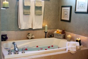 luxurious bath remodel sample