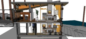 conceptual drawing home expansion