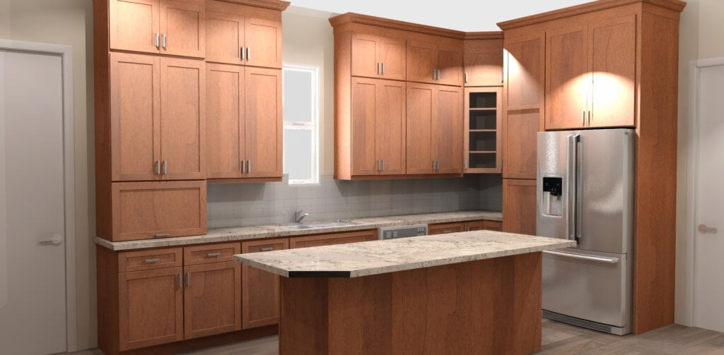 Kitchen Remodeling 3D Images | Classic Home Improvements